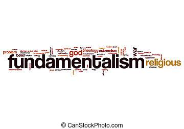 Fundamentalsim word cloud - Fundamentalism word cloud...