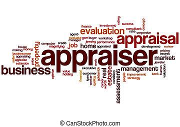 Appraiser word cloud concept