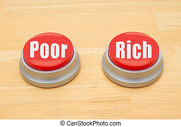 The difference between being poor and being rich