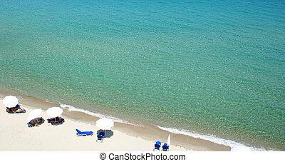 Greece. Halkidiki. Beach - Greece. Halkidiki peninsula....