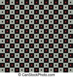 Abstract poker background
