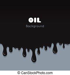 Flow ink drops, splash oil - Flow ink drops. Splash oil...
