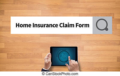 Home Insurance Claim Form Document Refund Home Insurance, on...
