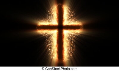 Cross shining