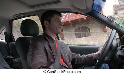 Fast driving,inside camera