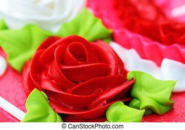 Rose Detail Cake Icing