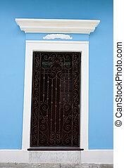 San Juan Doorway - A charming doorway in San Juan, Puerto...