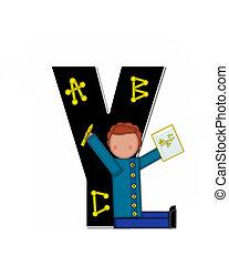 Alphabet Children ABCs Y