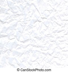 Paper texture. - white crumpled paper texture for background