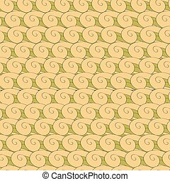 vortex whorl seamless pattern - vector seamless pattern...
