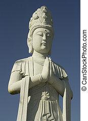 Buddah Statue - A very nice stone made buddha statue