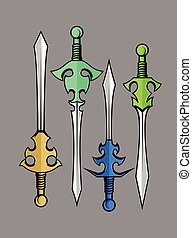 Swords Vector Designs