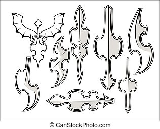 Ancient Metallic Weapons Collection