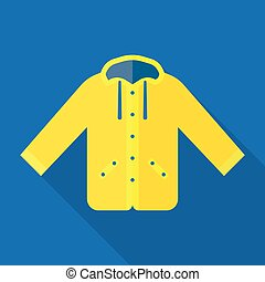 Yellow raincoat waterproof clothes - Yellow raincoat jacket...