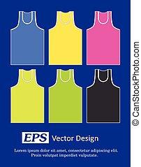 Colorful Gym Vest Set