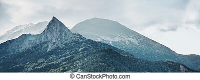 Mountain Zakan - Beautiful mountain Zakan, Russia