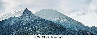 Mountain Zakan - Beautiful mountain Zakan, Russia