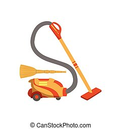 Floor CleaningHousehold Equipment Set. Clean Up Special...