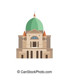Montreal Basilica As A National Canadian Culture Symbol....
