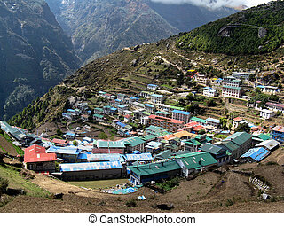 Namche bazzar - everest base camp trek