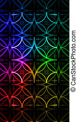 Laser light background