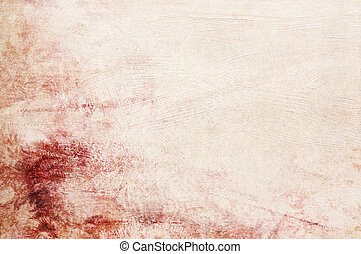 Textured red pink beige background with space for text or...
