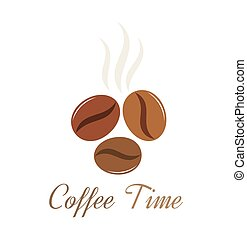 Coffee beans vector - Coffee beans illustration