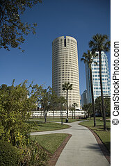 Downtown Tampa in Florida