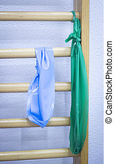 Physical therapy physiotherapy equipment - Elastic stretch...