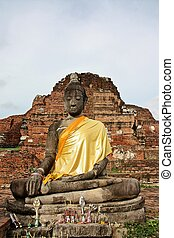 Buddha image - The Buddha image its in the ancient city