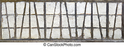 Old half-timbered panorama - Panorama of the old...