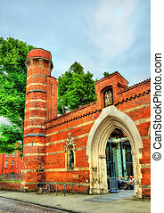 St. Anne Monastery, now a museum. Lubeck - Germany - St....