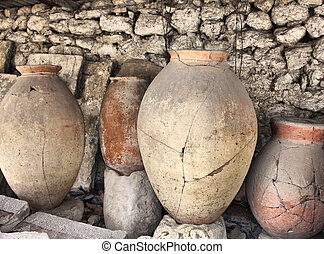 Ancient greek jugs