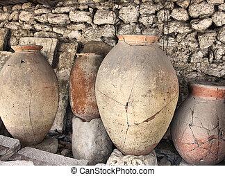 Ancient greek jugs