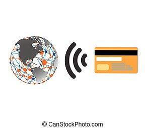Wifi World Symbol [P?evedený]ds [dený] - Internet...