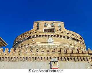 Castel Sant' Angelo, Rome - View at Castel Sant' Angelo,...