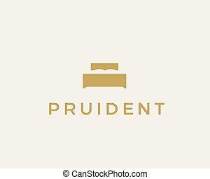 Creative premium furniture logo. Luxury universal interior...