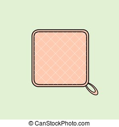 Table Mat Vector Object Illustration