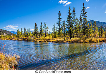 The Canadian province of Alberta - Beautiful Lake Vermilion...