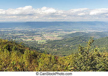 Shenandoah Valley - The Shenandoah Valley as seen from the...