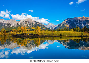 The lake in Canadian Rockies