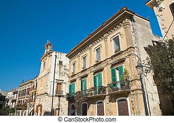 Alleyway Acquaviva delle fonti Puglia Italy