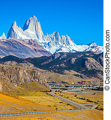 Road to El Chalten - Incredible Patagonia. The road to the...