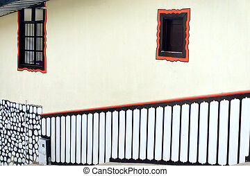 Colonial Architecture in Salento - Interesting patterns on a...