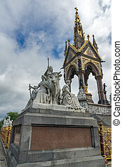 The Albert Memorial, London - Prince Albert Memorial,...