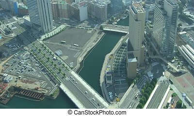 Time lapse Yokohama - Time lapse movie busy Yokohama from...