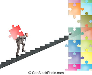 Missing piece of puzzle of a businessman build a new company...