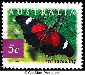 AUSTRALIA - CIRCA 2004: A stamp pri