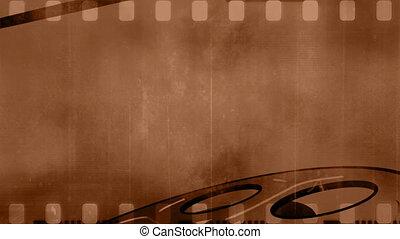 Old film grunge background loop