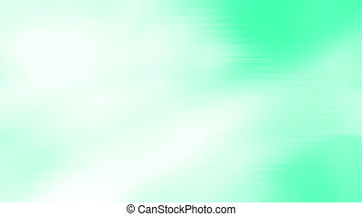 Text friendly green white flow loop - Looping soft green and...
